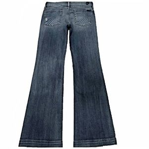 7 For All Mankind Dojo 27X35.25 Long Flare Jeans